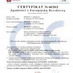 Certyfikacja opraw oświetleniowych typu OOW, OOK